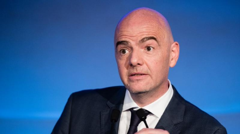 Infantino added that the International Olympic Committee's (IOC) decision next week on Russia's participation at the winter Games would have no impact on the World Cup, which will take place in 12 venues spread across 11 cities including Moscow, St Petersburg and Sochi.(Photo: AFP)