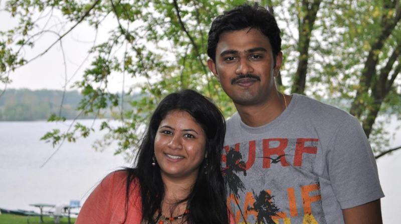 Srinivas Kuchibhotla is survived by his wife Sunayana Dumala, who welcomed the court's decision. (Photo: Facebook   Sunayana Dumala)