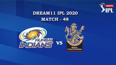 MI VS RCB  Match 48, DREAM11 IPL 2020, T-20 Match