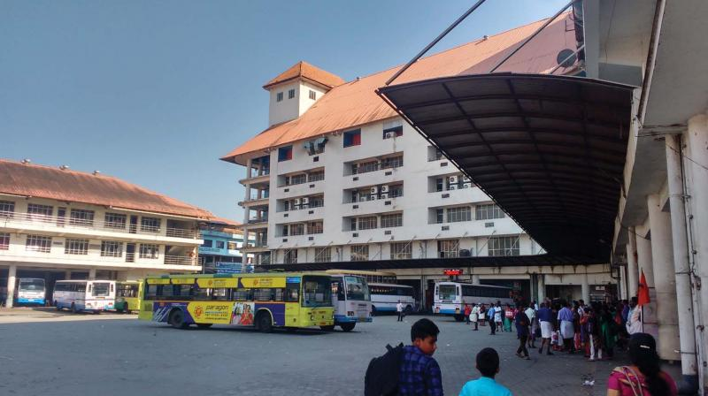 The Angamaly shopping complex of KSRTC