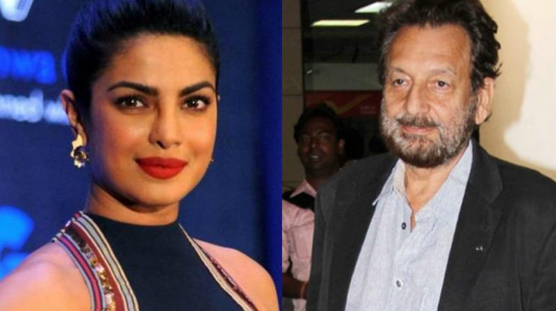 Priyanka Chopra and Shekhar Kapoor