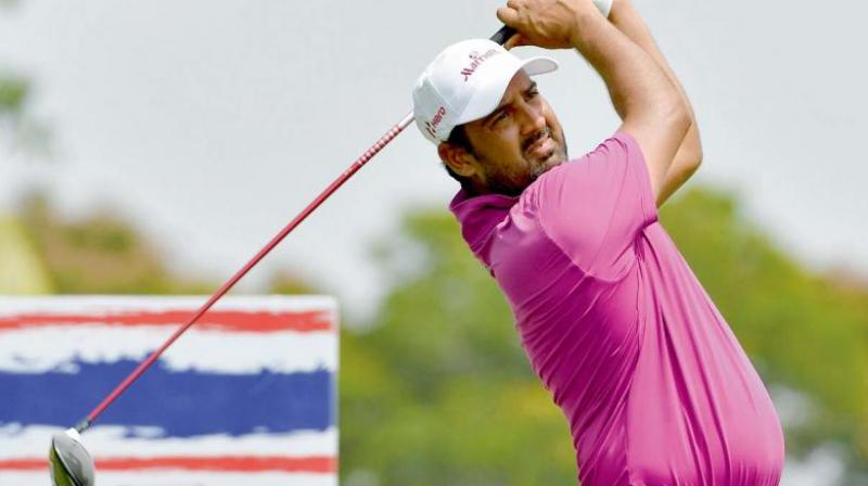 Shiv Kumar cashes his ticket to the British Open once again (Photo: AFP)