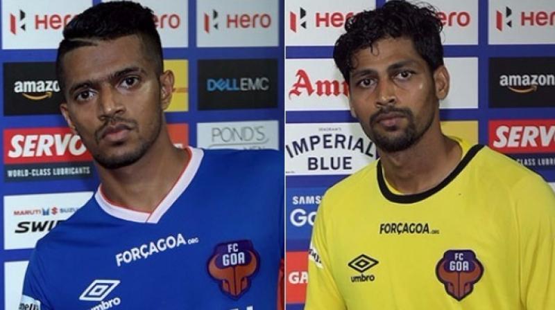 Mandar Rao Dessai and Laxmikant Kattimani (Photo: ISL Media)