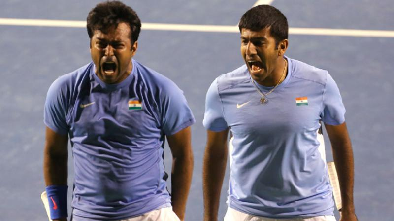 Both of India's veteran stars could potentially face each other in the quarter-finals (Photo: AFP)