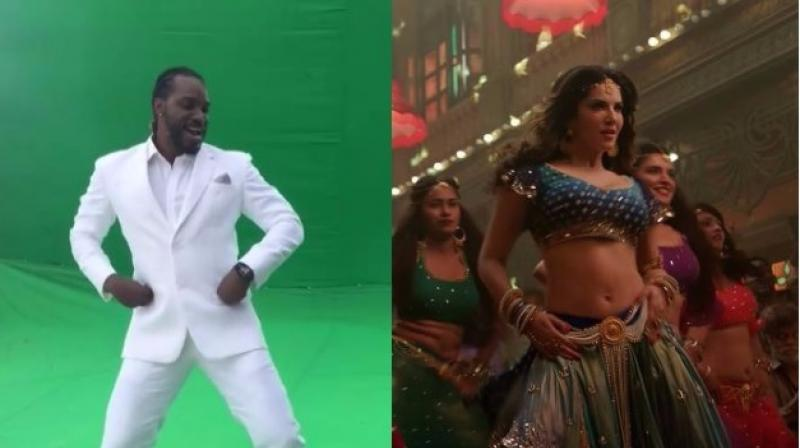 Chris Gayle shared a video of himself dancing to Sunny Leone's track 'Laila' and took the social world by storm. (Photo: Scrrengrab)