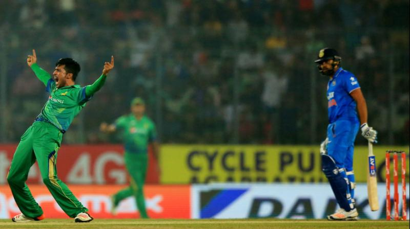 During the 2016 Asia Cup, Rohit Sharma wasn't pleased by the attention Mohammed Amir received. (Photo: AFP)