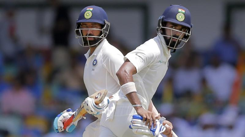 KL Rahul and Chesteshwar Pujara have played a pivotal role in India's dominance so far in the series. (Photo: AP)