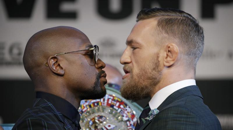 McGregor faces his first ever professional boxing contest against Mayweather, the undefeated former welterweight king who has come out of a two-year retirement to take on the Irish mixed martial arts star. (Photo: AP)