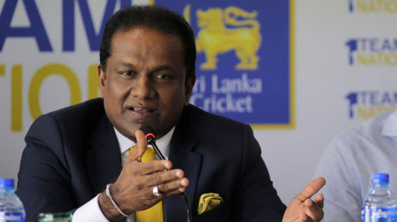 Sumathipala said his administration has laid long term plans to resurrect the country's cricket but it will take 3-4 more years to yield results. (Photo: AP)