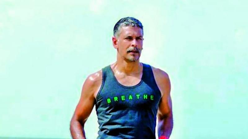 Barefoot running is the natural way to run: Milind Soman