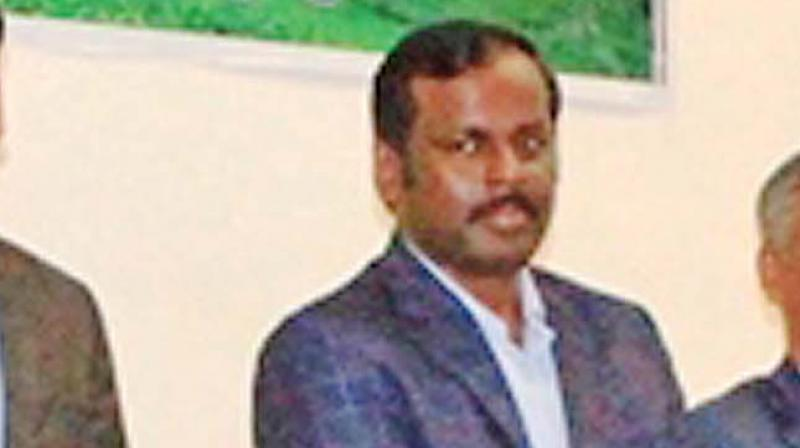 M. Balaji, Executive  director, Tea Board, zonal office at Coonoor..