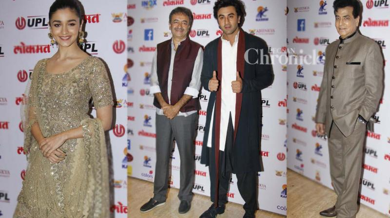 Numerous Bollywood stars and celebrities were other fields were present for the Lokmat Awards held in Mumbai on Tuesday. (Photo: Viral Bhayani)