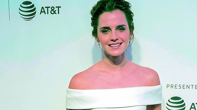 Emma Watson Debuts New Time's Up Tattoo… with a Typo