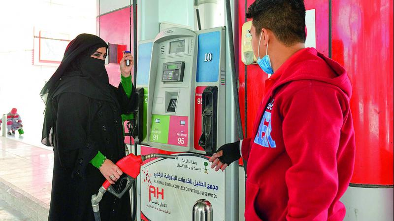 Mervat Bukhari, a force of nature draped head-to-toe in Isla-mic niqab, braved insults to become the first Saudi woman to work at a gas station, something uni-maginable not long ago.