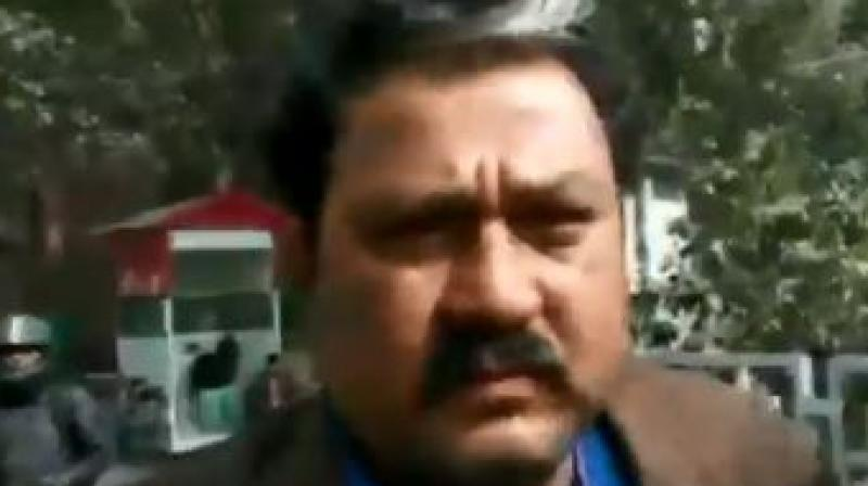 Raju Singh contested the 2015 Assembly election in Bihar on a BJP ticket.  (Photo: ANI)