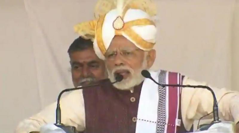 Prime Minister Narendra Modi . (Photo: Twitter/BJP4India)