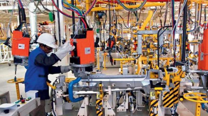 India's manufacturing sector activity fell to a four-month low in February