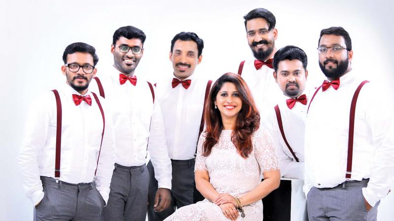 'We liked this song and contacted Ghibran who was happy to let us do  a cappella version'