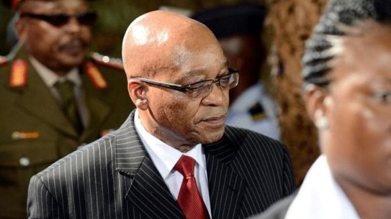 Zuma railed against the African National Congress (ANC) for 'recalling' him from office and threatening to oust him via a parliament no-confidence vote due on Thursday. (Photo: AFP/File)