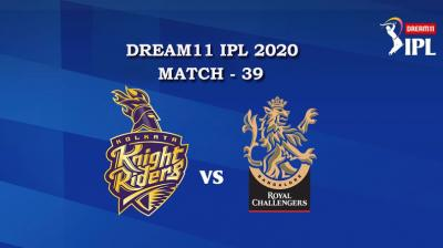 KKR VS RCB  Match 39, DREAM11 IPL 2020, T-20 Match