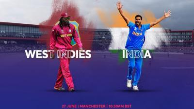 India vs West Indies (Photo: AFP)