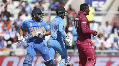 India vs West Indies (Photo: Cricket world cup/Twitter)
