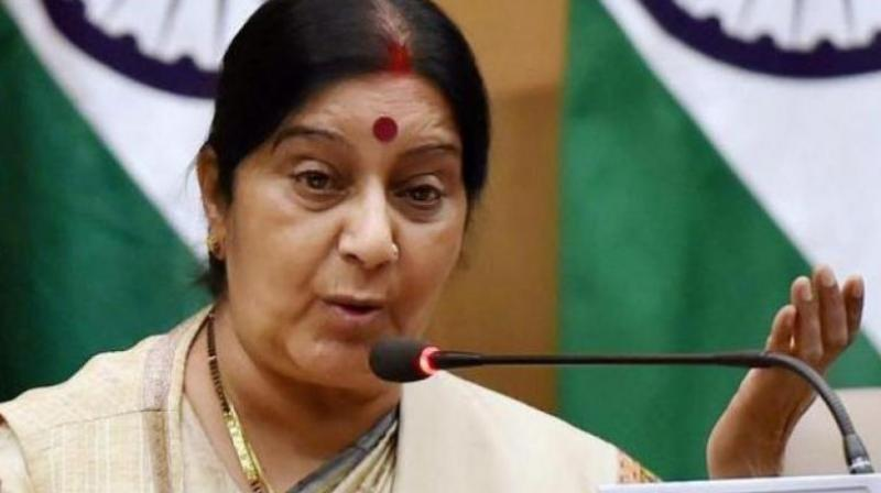 External Affairs Minister Sushma Swaraj. (Photo: PTI)