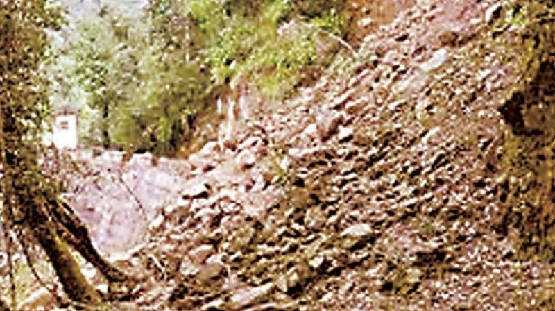 Five places in Iritty taluk and two in Taliparamba taluk were hit hard with landslides. (Representational image)
