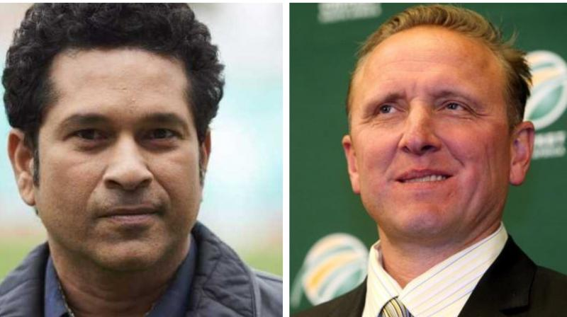 Sachin Tendulkar, has 34,357 runs across formats and is the only batsman to have 100 internationals hundreds under his belt.  The 52-year-old Allan Donald is one of the finest bowlers to have played the game and had 330 Test and 272 ODI wickets to his credit before calling it quits in 2003. (Photo:AFP)