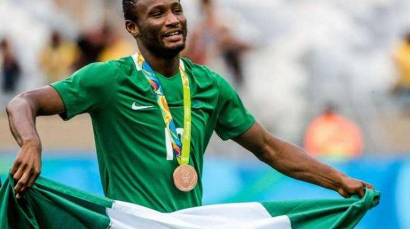 John Obi Mikel's decision comes after the end of Nigeria's campaign in the Africa Cup of Nations. (Photo:AFP)