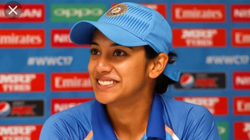 Smriti Mandhana became popular after scoring two straight 100s in the first two games of the 2017 Women's World Cup.