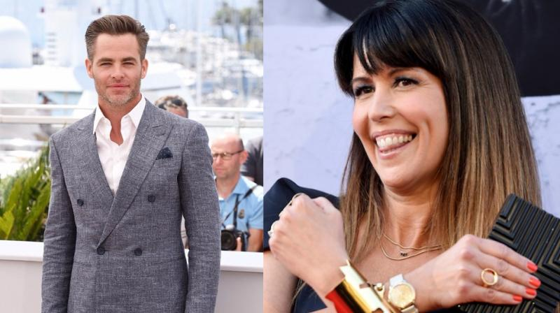 Chris Pine and Patty Jenkins have worked together in blockbuster 'Wonder Woman'.