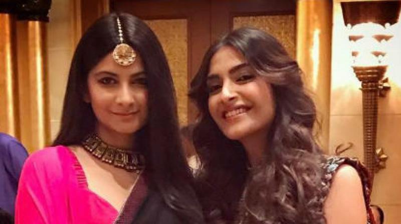 Rhea and Sonam Kapoor.