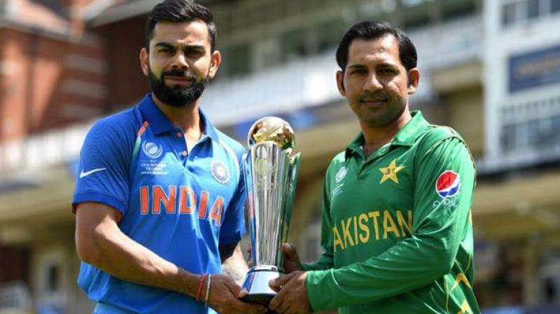 India and Pakistan are scheduled to meet on June 16 at the Old Trafford in Manchester for the 2019 Cricket World Cup. (Photo: BCCI)