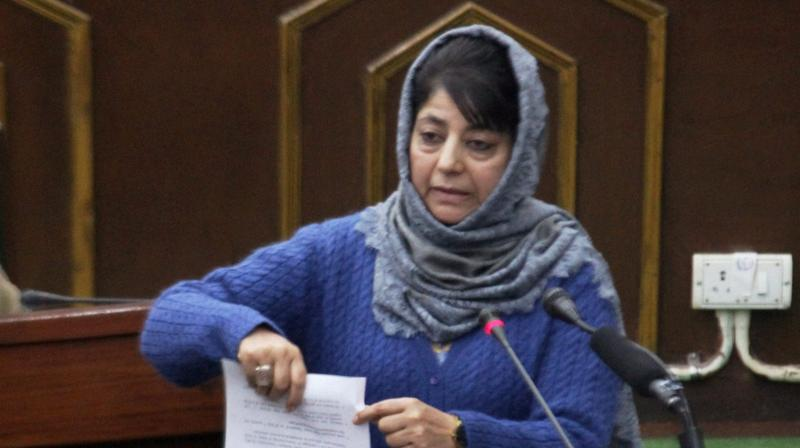 Mehbooba Mufti forwards BJP ministers' resignation to Governor