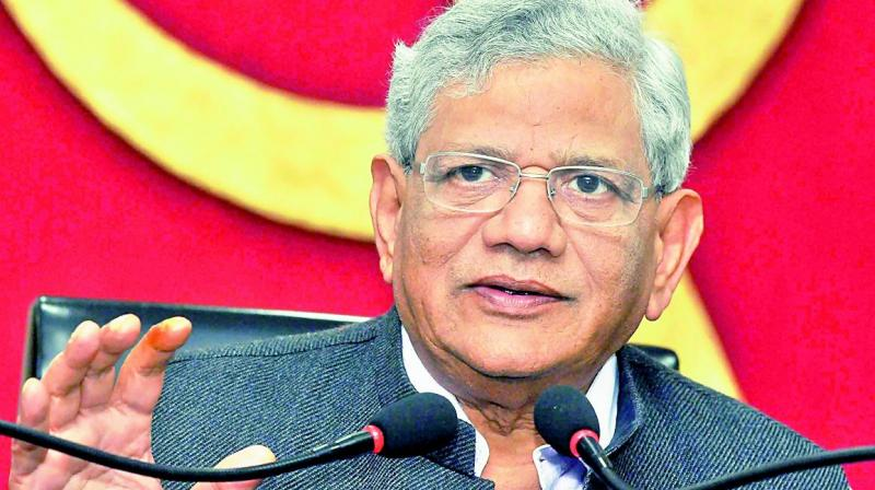 CPI(M) toes Karat line, 'rules out' tie-up with Cong