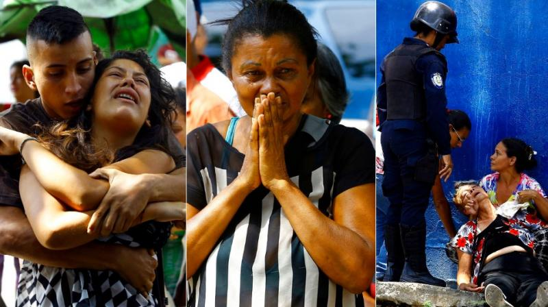 Venezuelan prison fire leaves nearly 70 people dead