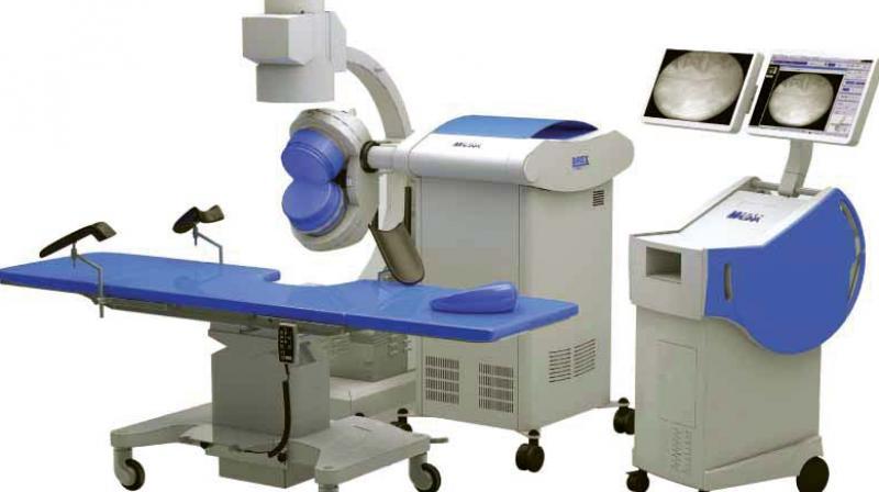 Electro-hydraulic lithotripsy equipment