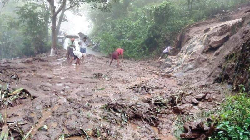 The landslide, which followed heavy rains, struck Bukalasi, situated on the slopes of Mount Elgon, on Thursday afternoon. (Representational image)