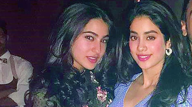 Sara Ali Khan and Janhvi Kapoor