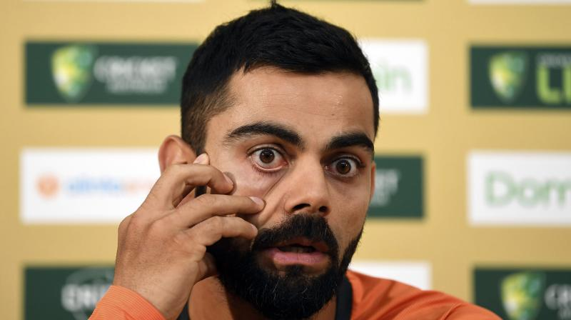In Dhoni's absence, Kohli's tactical errors were in focus and the senior wasn't in the mix as Australia did the unimaginable in making the highest successful chase against India. (Photo: AP)