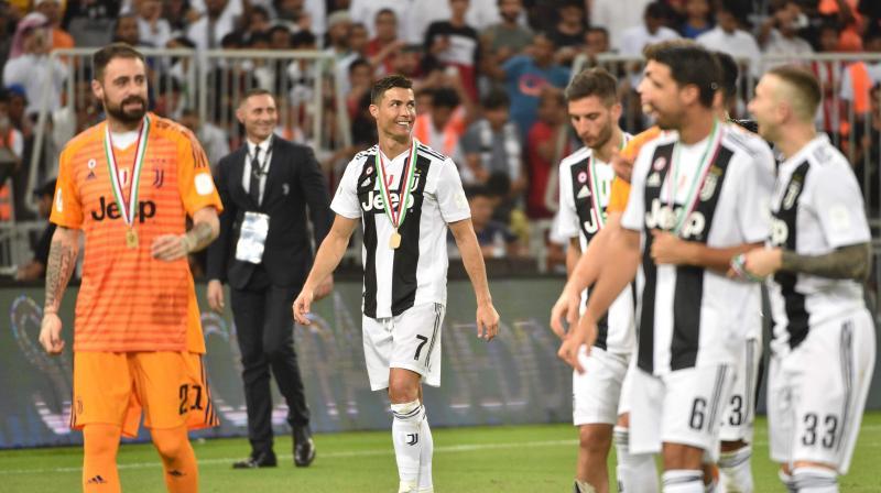 7cafa8c05c9 Cristiano Ronaldo secures Italian Super Cup glory for Juventus