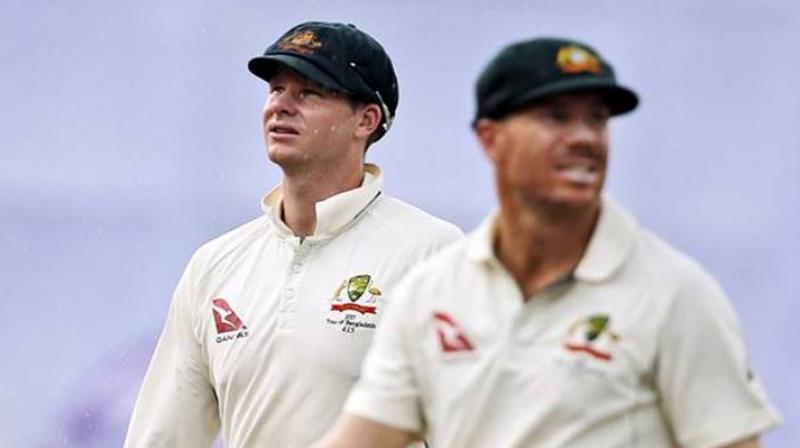 Australia captain Smith and Warner, his deputy, were both given 12-month suspensions from state and international fixtures by Cricket Australia for their roles in a ball-tampering scandal during a Test match in South Africa in March last year. (Photo: AP)