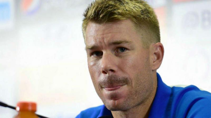 Warner will return to Australia next Monday, after two more matches in the Bangladesh Twenty20 competition. (Photo: AFP)