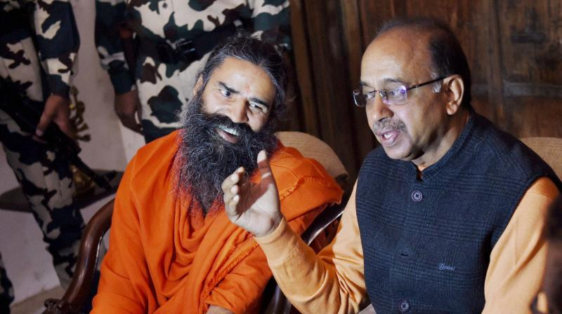 Vijay Goel believes that a plan could be could devise strategies to boost yoga as a competitive discipline after discussing all its aspects. (Photo: PTI)