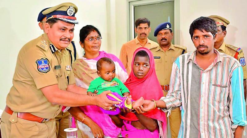 Rachakonda police commissioner Mahesh Bhagwat.