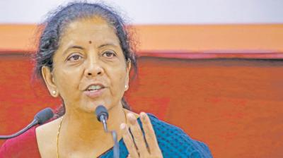 Government did not intend to review the budget proposal for overseas sovereign borrowings, says Nirmala Sitharaman.