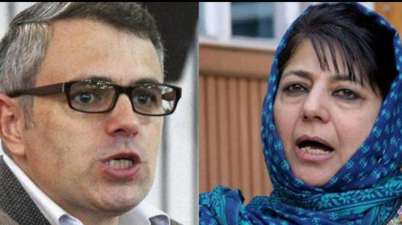 Former chief minister of Jammu and Kashmir, Omar Abdullah and Peoples Democratic Party (PDP) leader Mehbooba Mufti on Monday welcomed the Pathankot court verdict in the Kathua rape case, demanding 'severe punishment' to the convicts. (Photo: File)