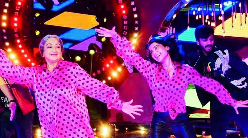 Stills from the movie O Baby and ABCD
