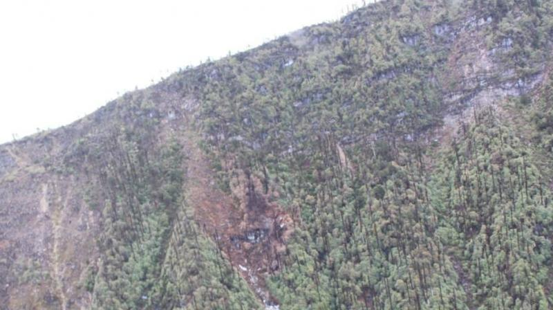 The site where the wreckage of the AN-32 has been spotted is located 16 km north of Lipo and about 12 to 15 km west of Gatte under Payum region of Shi Yomi district. (Photo: File)